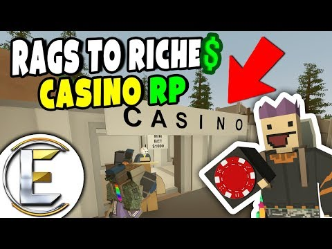 CASINO RP | Unturned Roleplay (Rags to Riches #51) Place Your BETS!?