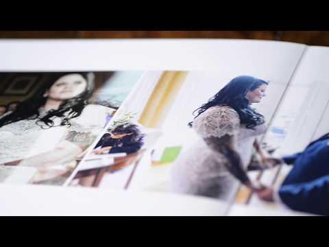 Graphistudio Original Wedding Book by gavin conlan photography