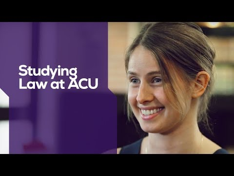 ACU | Studying Law At ACU