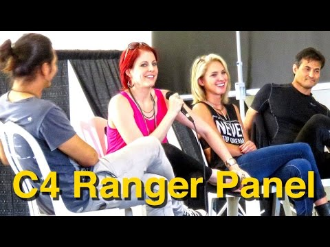 Power Rangers Panel at C4 Central Coast Comic Con!