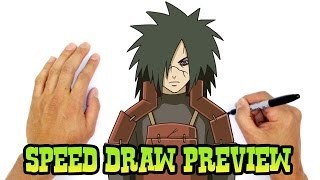 Madara Uchiha (Naruto)- Speed Draw Preview
