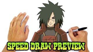 Madara Uchiha (Naruto)- Speed Draw Preview