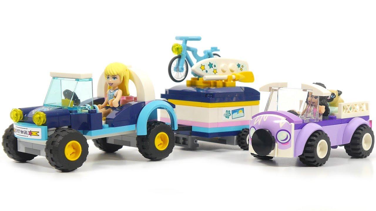 LEGO FRIENDS 41364 Stephanie/'s Buggy /& Trailer ~NEW~