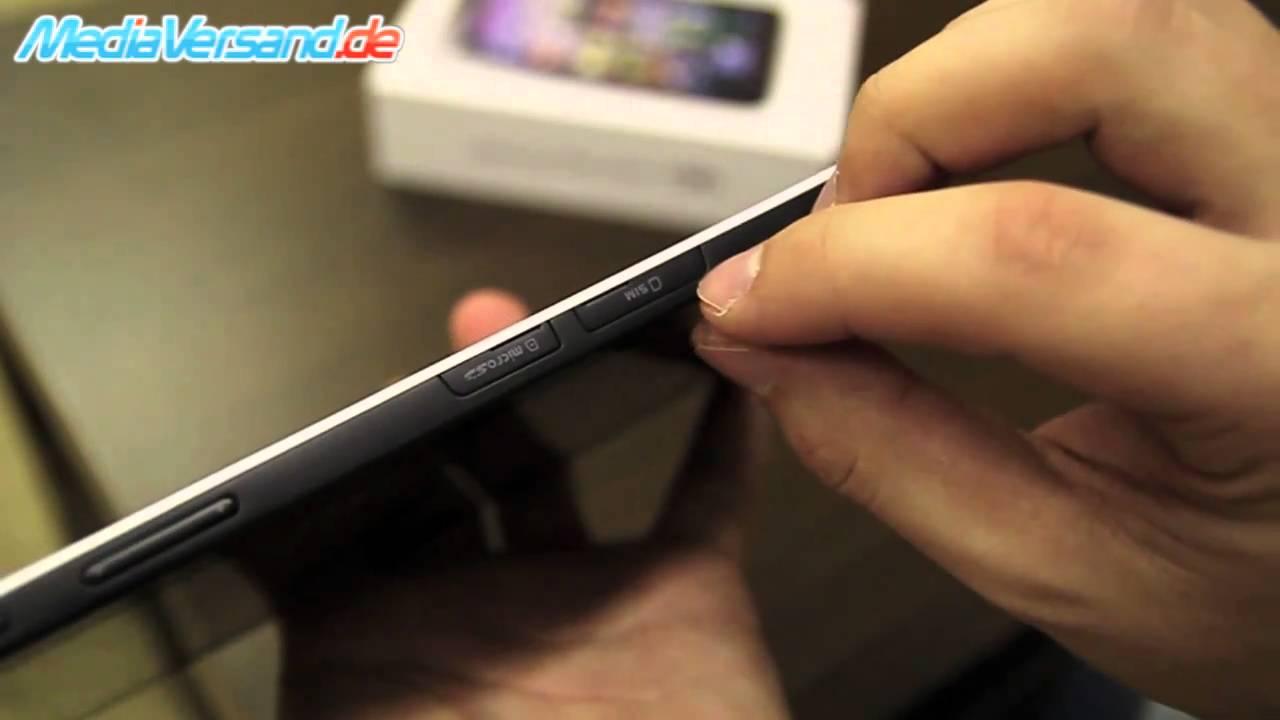 sim karte für tablet Samsung Galaxy Tab SIM Karte einsetzen Android Google Tablet PC