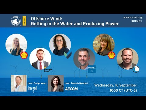 Offshore Wind: Getting in the Water and Producing Power
