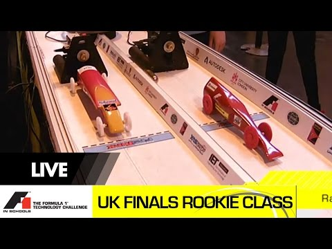 F1 in Schools UK National Final 2015 Bloodhound SSC and F1 Rookie Class Racing and Team Interviews