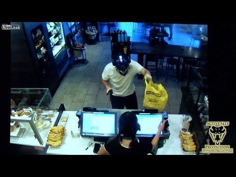 Good Samaritan Gives Starbucks Robber a Venti Beating | Active Self Protection