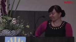 MTKL:n koulutussuunnittelija Annika Harsu VIRIKE RY:n 30-vuotisjuhlaseminaarissa