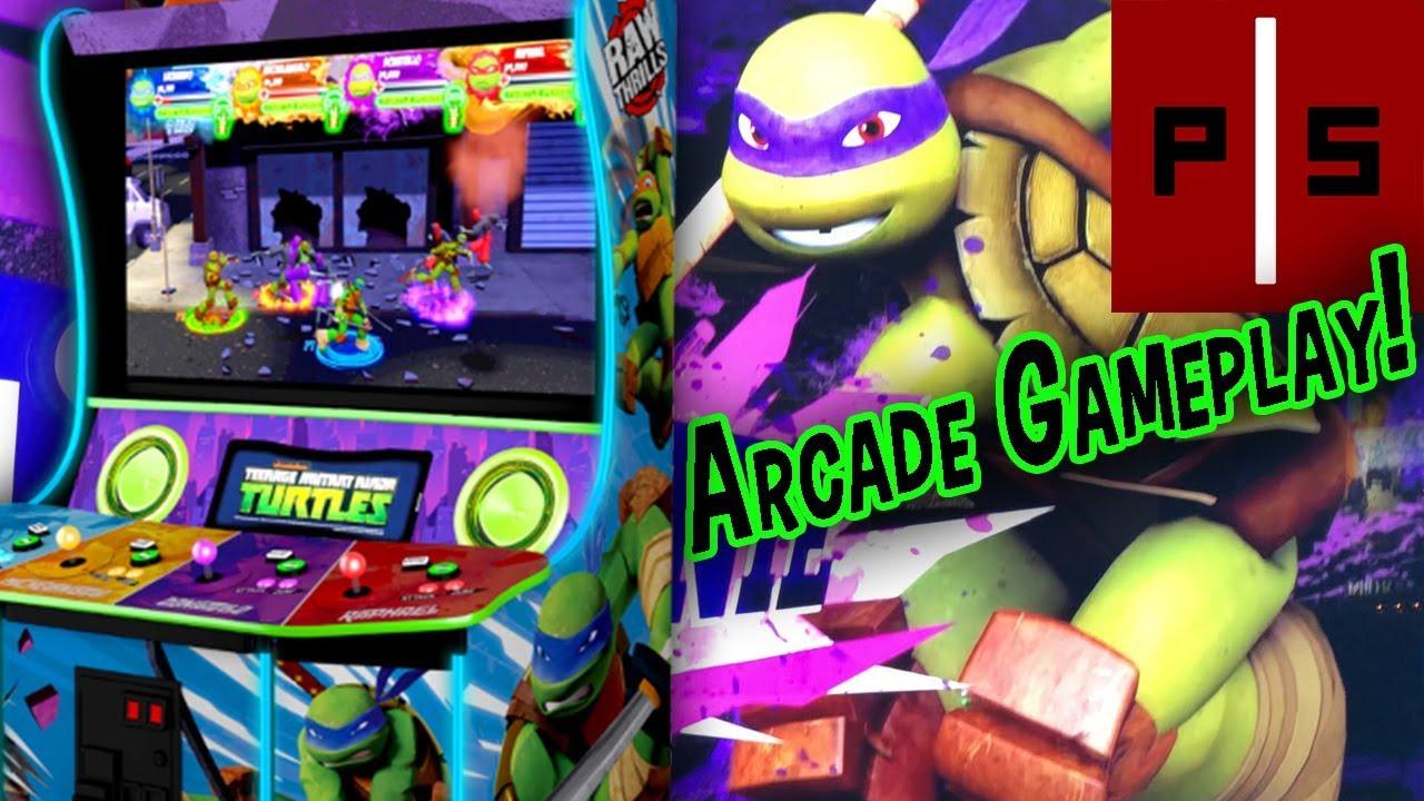 NEW Teenage Mutant Ninja Turtles Arcade (2018) | Gameplay - YouTube