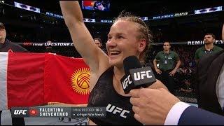 UFC Uruguay: Valentina Shevchenko Octagon Interview