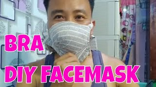 how to make your own face mask using bra II n95 face mask replacement -taalvolcano ashfall control