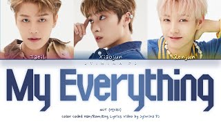 Download NCT U (엔시티 유) - 'My Everything' Lyrics (Color Coded_Han_Rom_Eng)