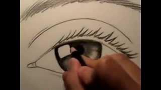 Как нарисовать глаз www.kancpalitra.ru(Магазин
