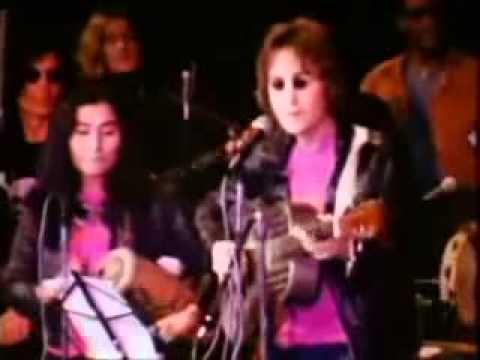 John Lennon at JOHN SINCLAIR FREEDOM RALLY
