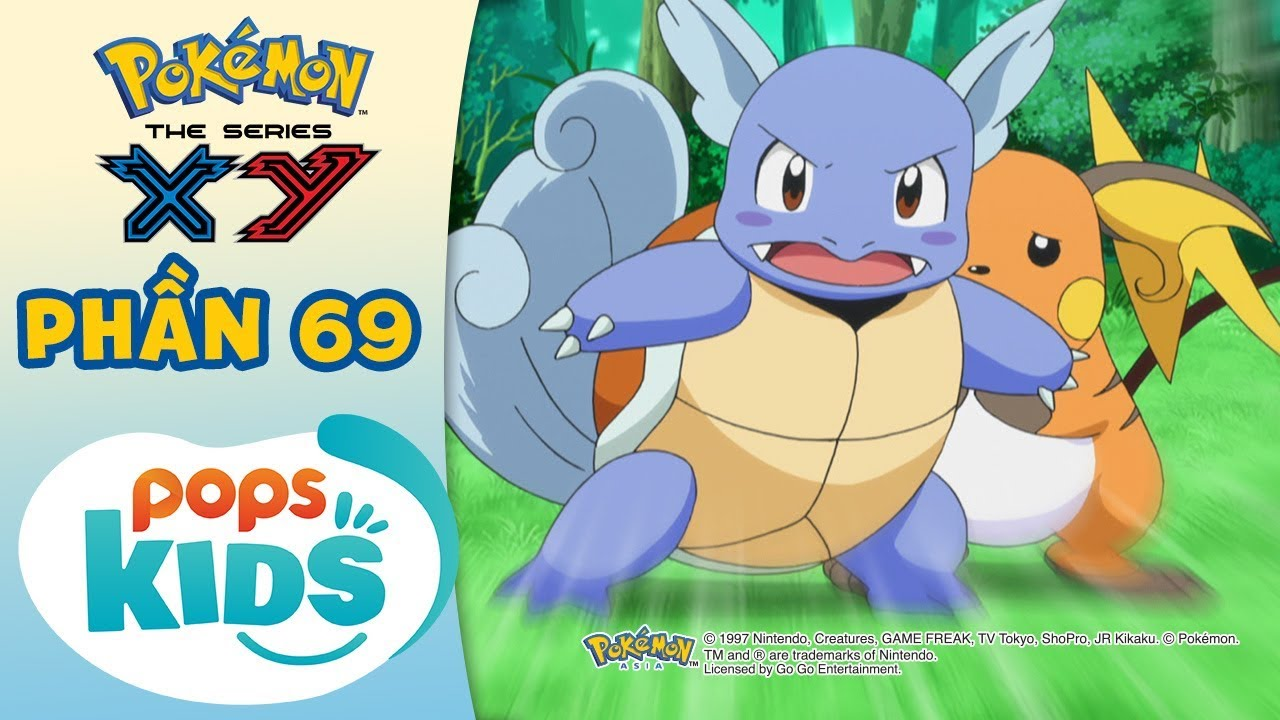 Tổng Hợp Hành Trình Thu Phục Pokémon Của Satoshi - Hoạt Hình Pokémon Tiếng Việt S18 XY - Phần 69