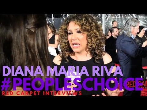 Diana Maria Riva interviewed at the 43rd Annual People's Choice Awards #PCAs #PeoplesChoice