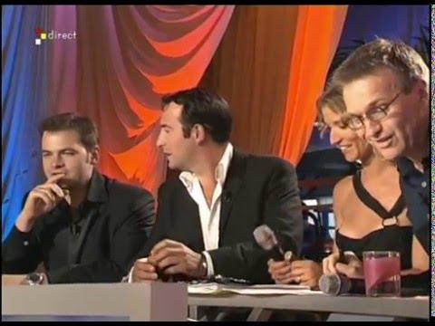 CANNES : Jean Dujardin, Clovis Cornillac, Mickey Rourke - On a tout essayé - 17/05/2005