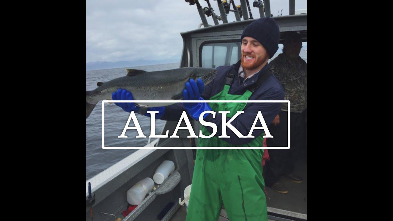 Alaska deep sea fishing pybus point lodge youtube for Alaska out of state fishing license