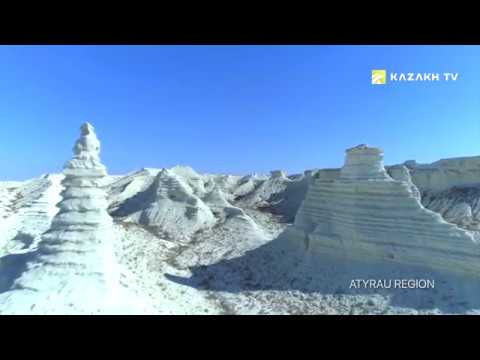 Unique landscapes and historical places in Atyrau region, Kazakhstan