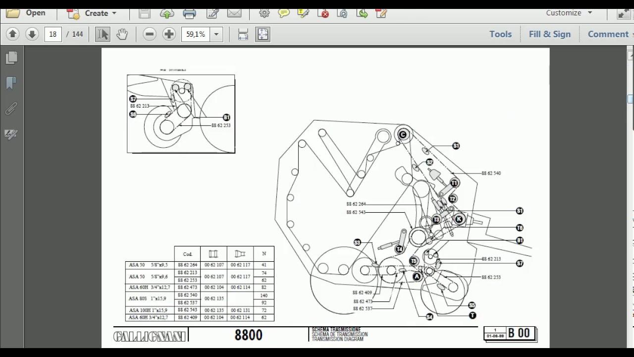 gallignani parts catalog youtube rh youtube com