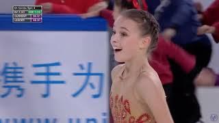 Анна Щербакова ПП Гран при Китая 2019