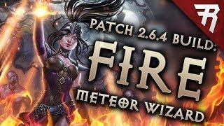 Diablo 3 Season 16 Wizard Tal Rasha Meteor GR 127+ build guide - Patch 2.6.4