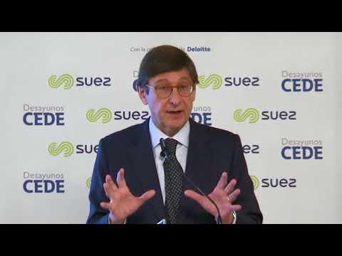 Desayuno CEDE con José Ignacio Goirigolzarri, presidente de Bankia
