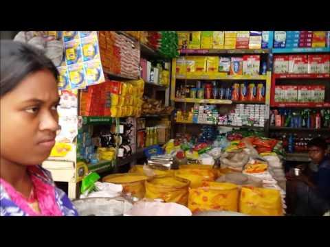 Dry Fish Market and Grocery Market in Karwan Bazar Dhaka Bangladesh