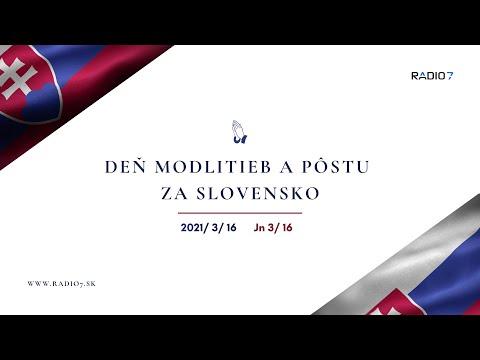 Deň modlitieb a pôstu za Slovensko | 2021/3/16