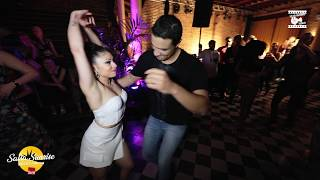 Walid Belbakir & Jessica Quiles - social dancing @ Salsa Sunrise Brussels