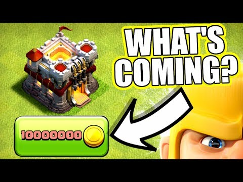WILL THERE BE A HUGE CLASH OF CLANS UPDATE AT CHRISTMAS!? - GIVE AWAY + Q&A TIME!