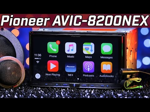 Pioneer AVIC-8200NEX - Apple Carplay & Android Auto - 2016 Review