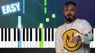 J. Balvin Willy William Mi Gente - EASY Piano Tutorial by PlutaX.mp3