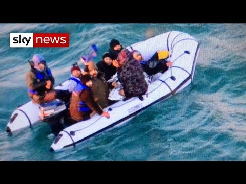 Three migrants intercepted at the English channel