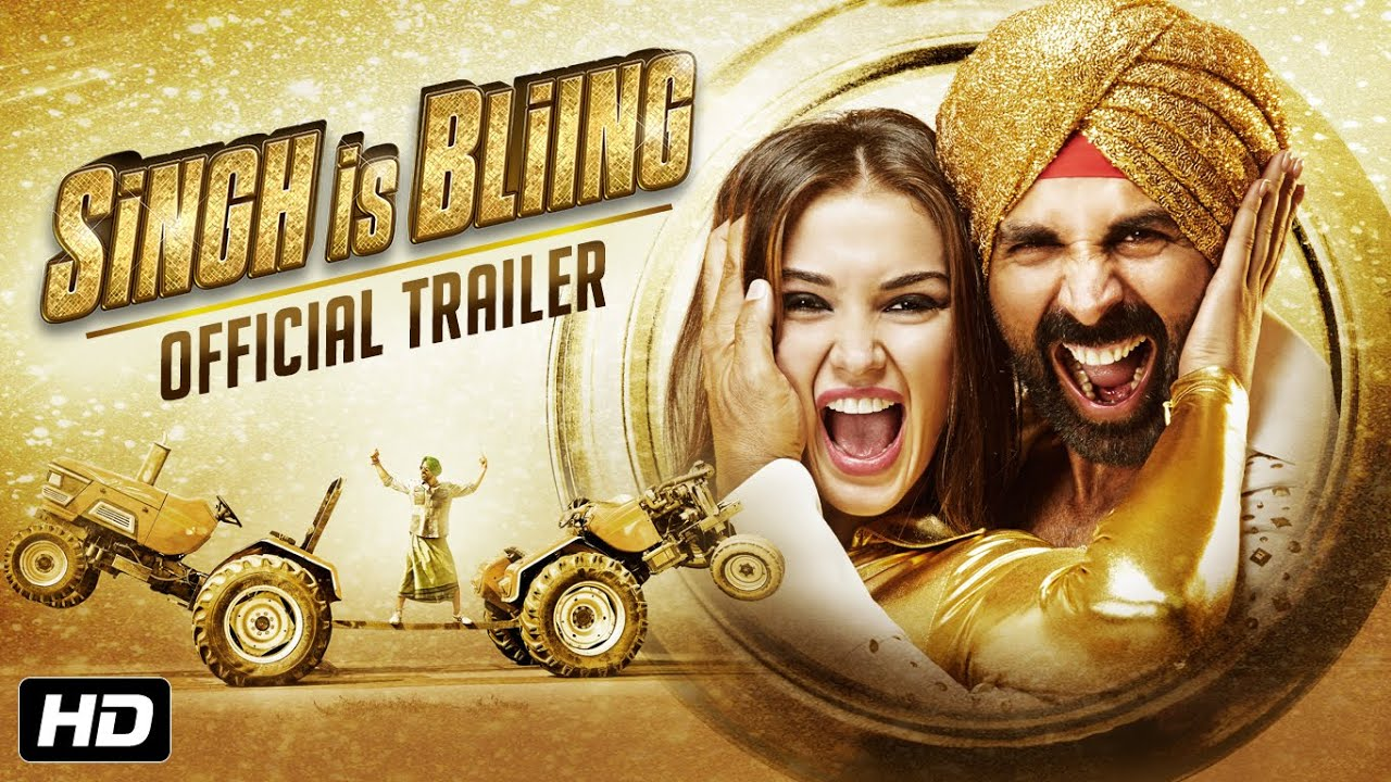 Singh Is Bliing | Official Trailer | Akshay Kumar | 2nd October - YouTube