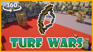 Minecraft Turf Wars in 360° Degrees