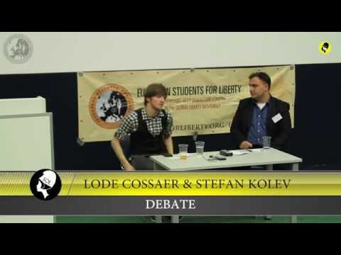 """Stefan Kolev & Lode Cossaer """"Liberty,Rules and the State"""" @ ESFL regional conference Cologne"""