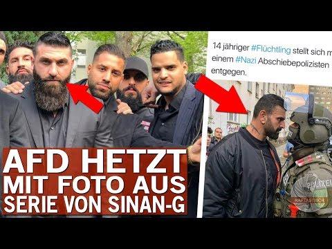 Peinlicher Fail - AfD hetzt mit Foto aus Sinan-Gs Netflix-Serie!