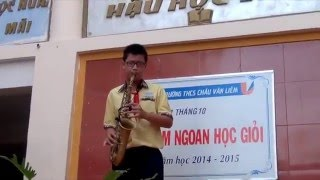 Nothing Gonna Change My Love For You - Saxophone Xuân Huy