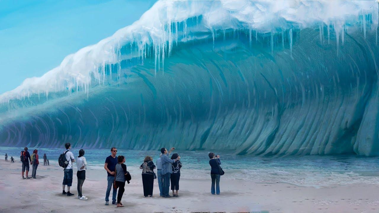 Der verrückte Plan, einen Tsunami einzufrieren! - YouTube
