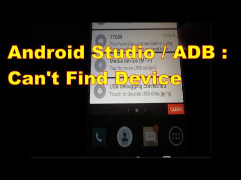 Android Studio / ADB : Can't Find Device, Lollipop issue