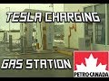 Tesla Charging at Petro Canada | Gas Station EV Chargers