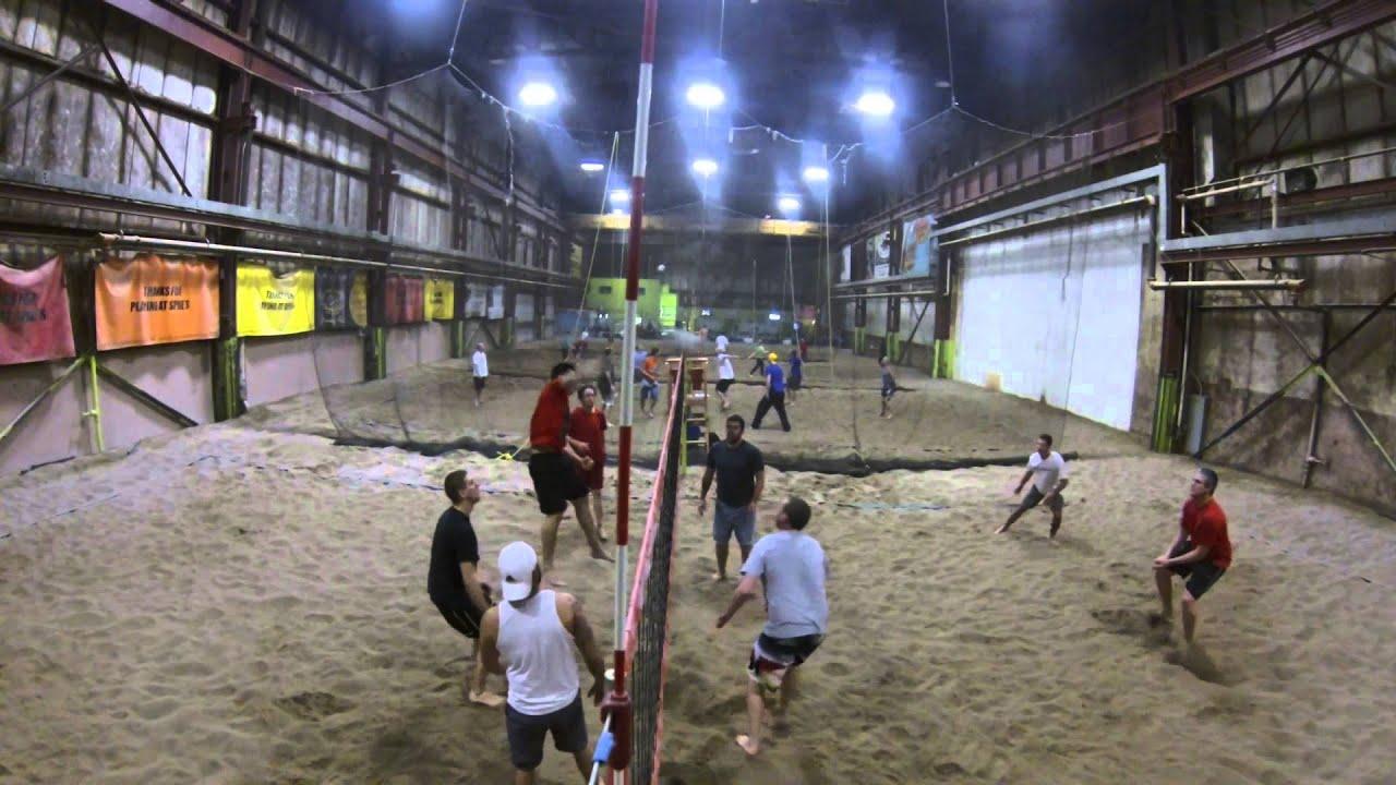 Spikes Indoor Beach Volleyball Youtube