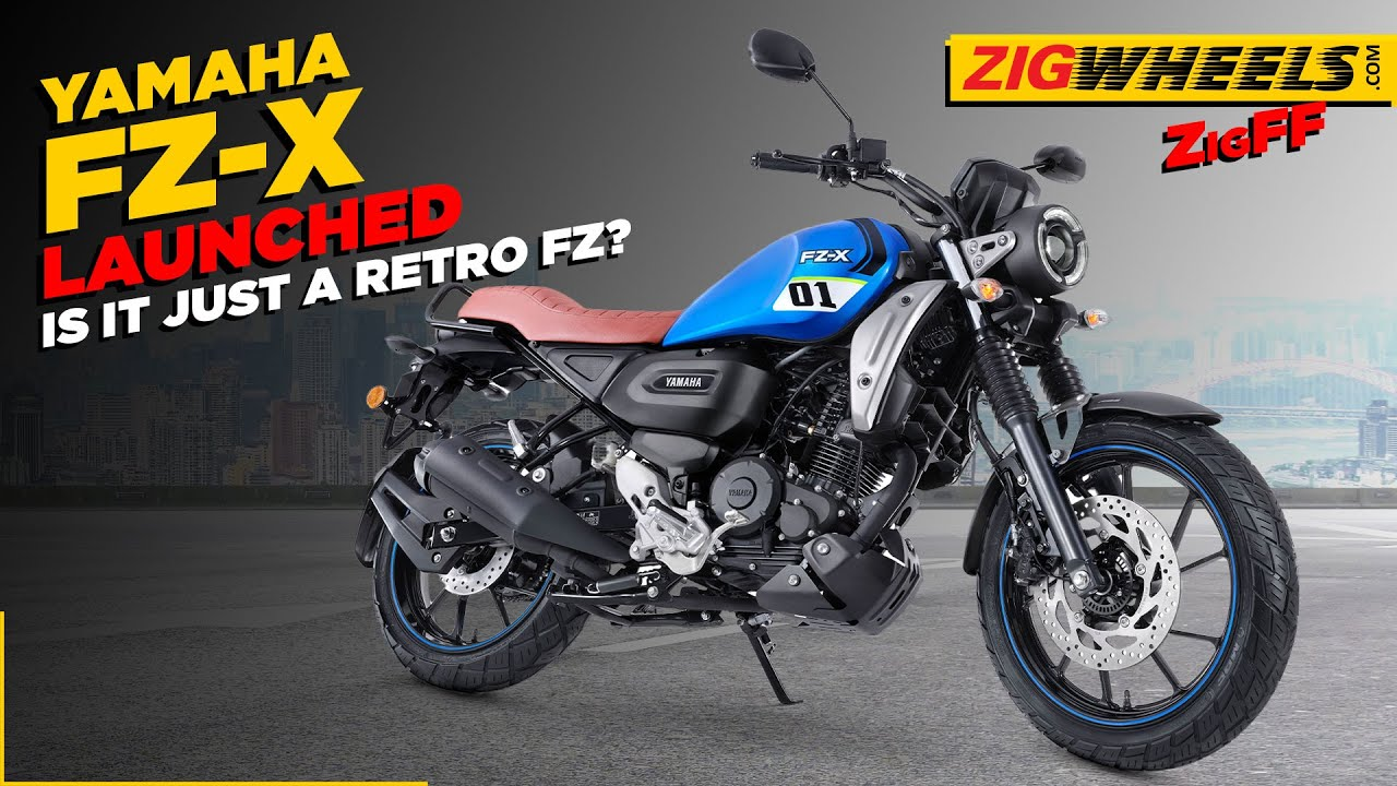 Download Yamaha FZ-X Launched In India | The FZ Goes Retro! | Specifications, Price, Features & More | ZigFF