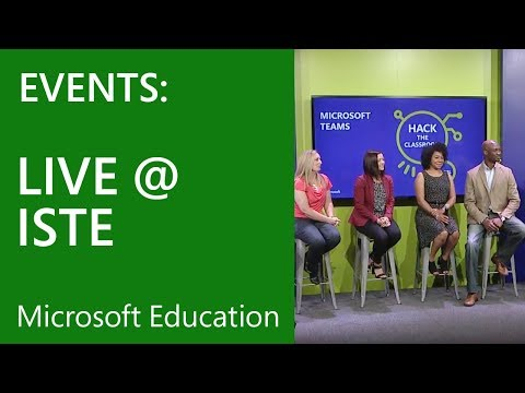 Hack the Classroom live from ISTE – Inspiring the Students o