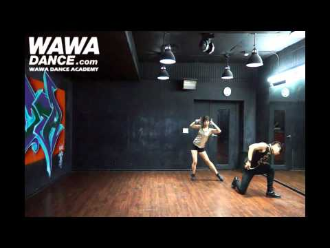 WAWA DANCE ACADEMY AILEE U&I DANCE STEP MIRRORED MODE