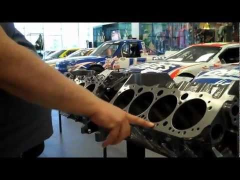 HENDRICK MOTORSPORTS MUSEUM ENGINE INFO