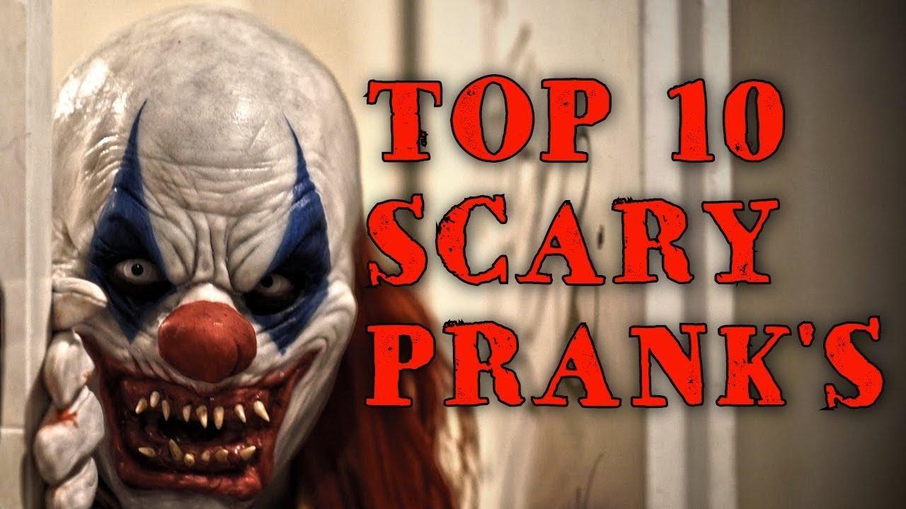 TOP 10 SCARY PRANK'S part #1 - ТОП 10 СТРАШНЫХ ПРИКОЛОВ. ЖЕСТЬ!!!