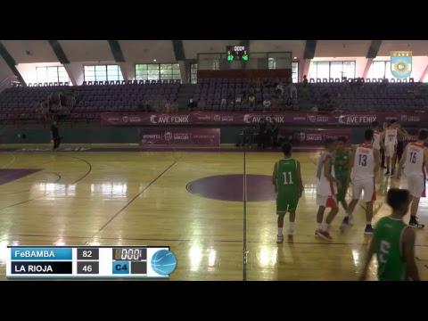 Argentino U17 de Selecciones: FeBAMBA vs. La Rioja