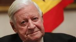 Helmut Schmidt: former German Chancellor dies